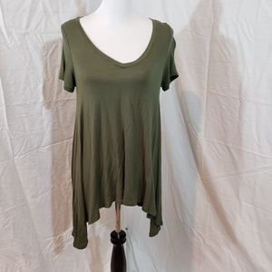 Mudd Small olive Green tunic